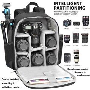 Image 2 - Caden câmera mochila multi funcional digital dslr câmera saco à prova dslr água ao ar livre câmera foto caso para nikon canon sony