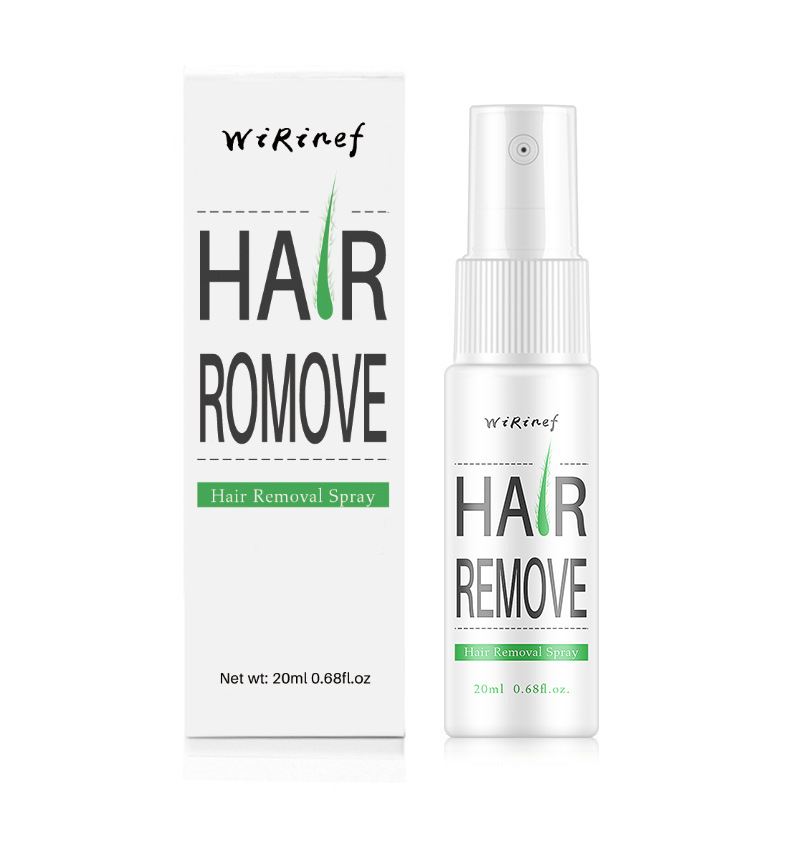New 20ML Permanent Painless Hair Removal Spray Stop Hair Growth Inhibitor Shrink Pores Skin Smooth Repair Essence TSLM2 Hot