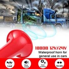 Automobile Air Horn Car Horn 12.0V 24V Universal Loud Sound Waterproof Horn Refitting Horn Air Horn 180DB Whisting Horn
