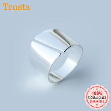 Trustdavis Genuine 925 Sterling Silver 925 Surface Smooth Op