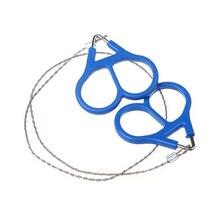 Пластиковая стальная проволока-пила кольцо прокрутки путешествия экстренный для выживания в походе снаряжение скалолазание выживания ручной инструмент