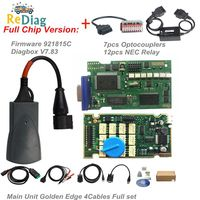 Lexia3 Full Chips Firmware 921815C LEXIA 3 PP2000 Diagbox V7.83 For Citroen/Peugeot 12 NEC Relay 7 Optocouplers with S1279 PSA30