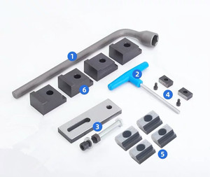 Image 4 - 2020 promotion 4/5/6/7/8 inchs Special vise for GT853 precision combination flat jaw milling machine for CNC machining center
