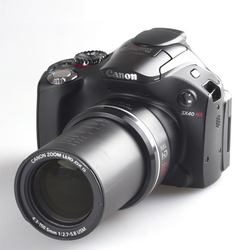 USED Canon SX40 HS 12.1MP Digital Camera with 35x Wide Angle Optical Image Stabilized Zoom and 2.7-Inch Vari-Angle Wide LCD