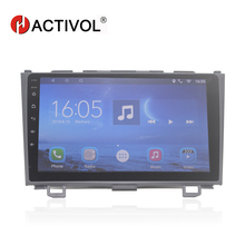 HACTIVOL 9 Quad core car radio gps navigation for HONDA CR-V 2006-2011 android 7.0 car DVD player with 1G RAM 16G ROM hactivol 2 din car radio face plate frame for honda cr v crv 2006 2011 car dvd player gps navigation panel dash mount kit