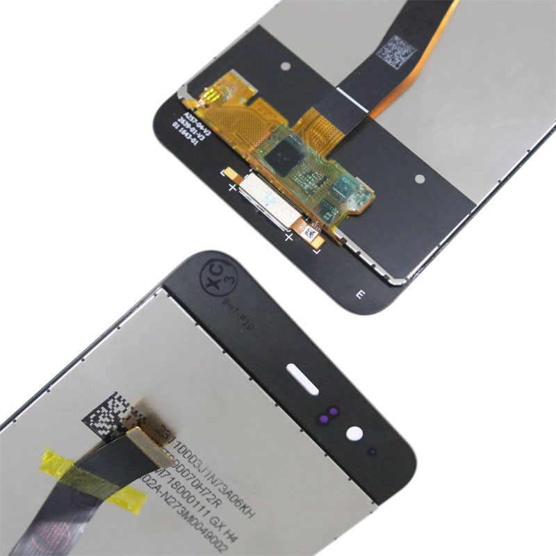 Ban đầu 5.1 ''Màn Hình Hiển Thị có Khung Thay Thế cho Huawei P10 Màn Hình Cảm Ứng LCD Bộ Số Hóa VTR-L09 VTR-L10 VTR-L29