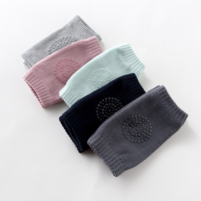 1 Pair Sports Baby Crawling Leg Pad Boys Anti-slip Elbow And Knee Sleeve Infants Toddlers Leg Warmers D0239