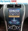 128G Android 10 Автомобильный мультимедийный радиоплеер с навигацией и экраном Тесла для Lincoln MKZ MKC MKX 2017-2020 carplay аудио плеер