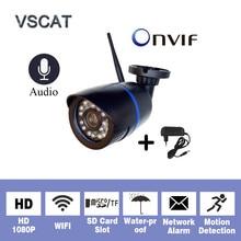Wireless Audio HD 1080P 2MP wifi IP Cameras H.265 WiFi Onvif Security Camera Night Vision Video Surveillance waterproof Camera