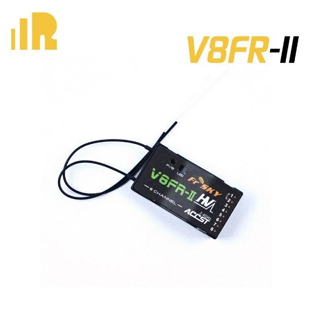 FrSky 2.4GHz ACCST D8 Mode V8FR-II 2.4G 8CH Receiver HV Version for Radio Transmitter