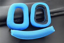 LEORY Replacement Earpads + Headband set for Logitech G930 G430 F450 Headphones Soft Ear Pads set(China)
