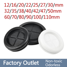 10pcs 12-110mm Circlip Rubber wire grommet gasket Electric box inlet outlet Seal ring Dust plug cover cable holder protector
