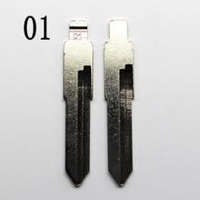 10 шт./лот 01# складной ключ для Santana, Audi 100, golf, B4 Автомобильная Болванка для ключа для мотоцикла замена головки ключа № 01