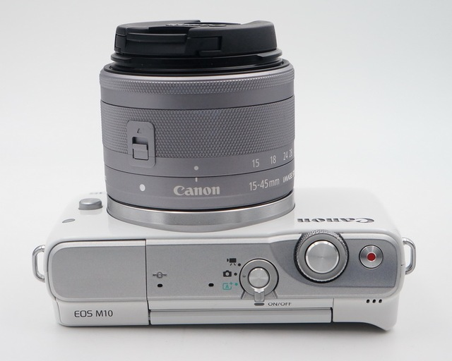 Used,Canon EOS M10 Mirrorless Camera Kit with EF-M 15-45mm Image Stabilization STM Lens Kit(NOT FULL NEW) 4
