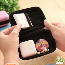 Mini Hold Case Storage Case For Headphones Earphone Earbuds Carrying Hard Bag Box Case For Keys Coin Travel Earphone Acc bue(China)