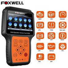 Foxwell NT650 OBD2 автоматический сканер ABS подушка безопасности SAS EPB DPF TPMS сброс масла инжектор ODB2 автомобильный диагностический инструмент OBD 2 Автомобильный сканер