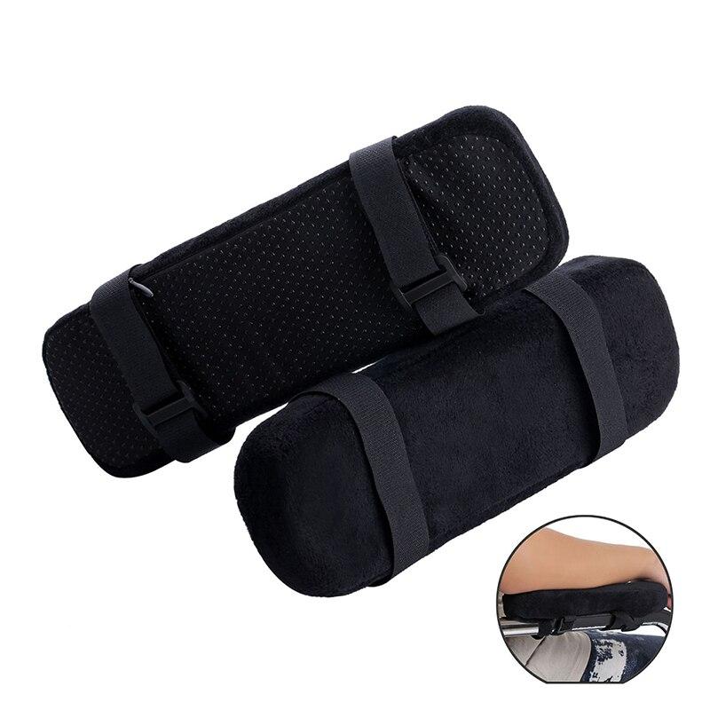 1 pçs almofadas de apoio de braço de cadeira de memória ultra-macio espuma cotovelo travesseiro apoio apto para cadeira de escritório em casa almofadas de mão alívio do cotovelo