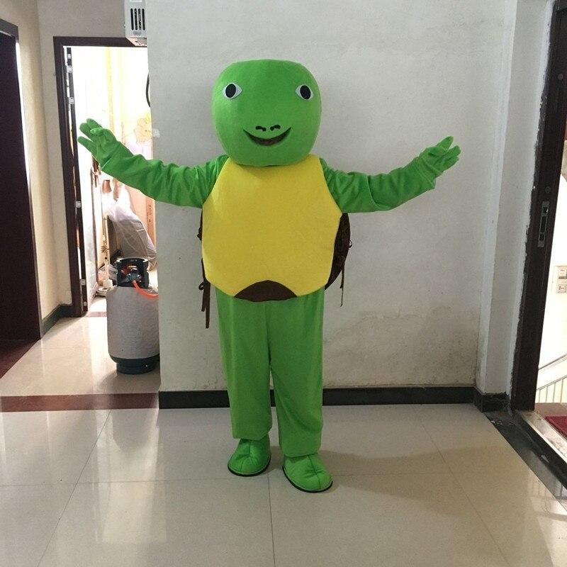 tartaruga verde personagem dos desenhos animados traje