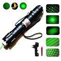 Охотничий Мощный 1000 м 5 мВт зеленый лазерный прицел, светильник, военный Регулируемый фокус, лазерная указка с аккумулятором 18650 + зарядное у...
