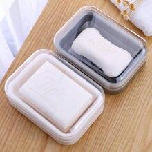 Novo caso da placa do prato do banheiro chuveiro em casa viajar caminhadas titular recipiente caixa de sabão transparente à prova dwaterproof água toalete caixa de sabão caso