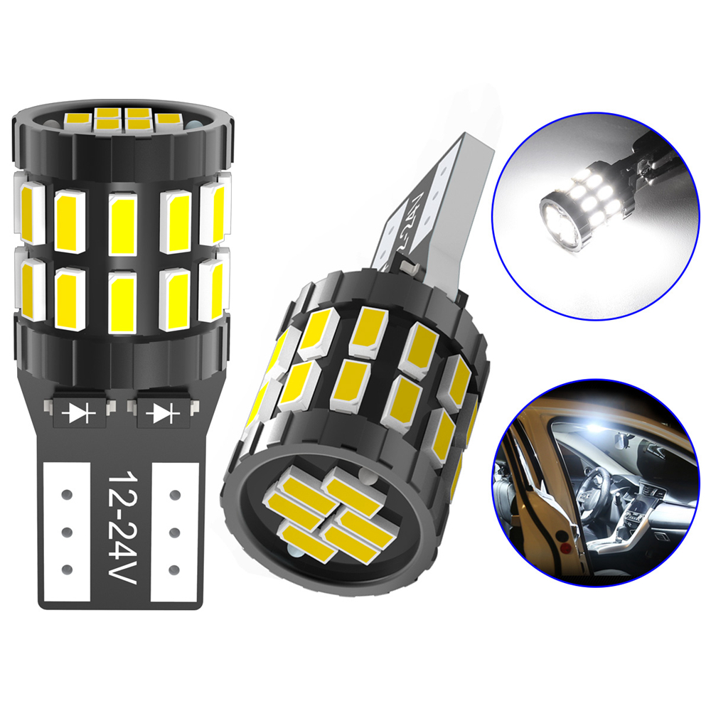 2x T10 LED Canbus Bulb W5W 168 194 Clearance Parking Lights For Audi A6 C5 C6 C7 A3 8P 8V A4 B5 B6 B7 B8 A5 A7 A8 Q3 Q5 Q7 TT R8