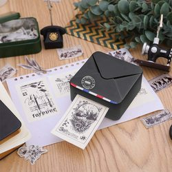 Hoge Kwaliteit Phomemo M02S Draagbare Thermische Photo Printer Bluetooth Multifunctionele Phomemo Mini Pocket Phomemo Label Printer
