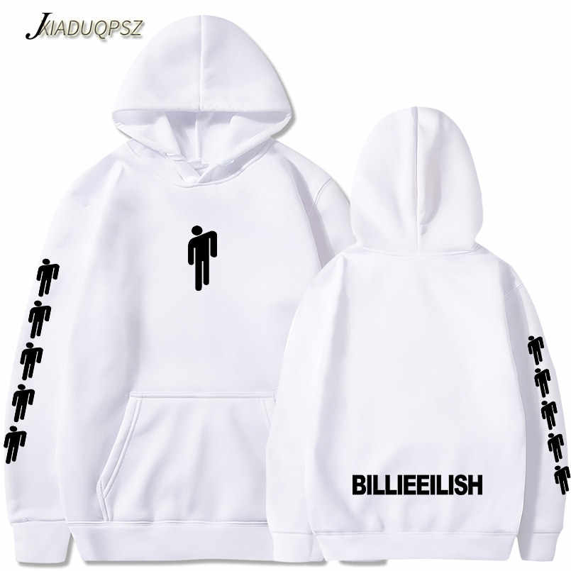 New listing Billie Eilish Hoodies sweatshirts Women Men Hip Hop Autumn Hot clothes print Billie Eilish black casual HoodyXXS-4XL