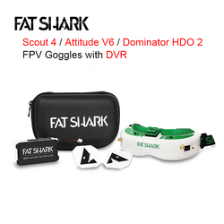 FatShark Scout 1136x640 Attitude V6 Dominator HDO 2 1280x960 OLED True Display FPV Goggles With DVR for FPV Racing RC Drone