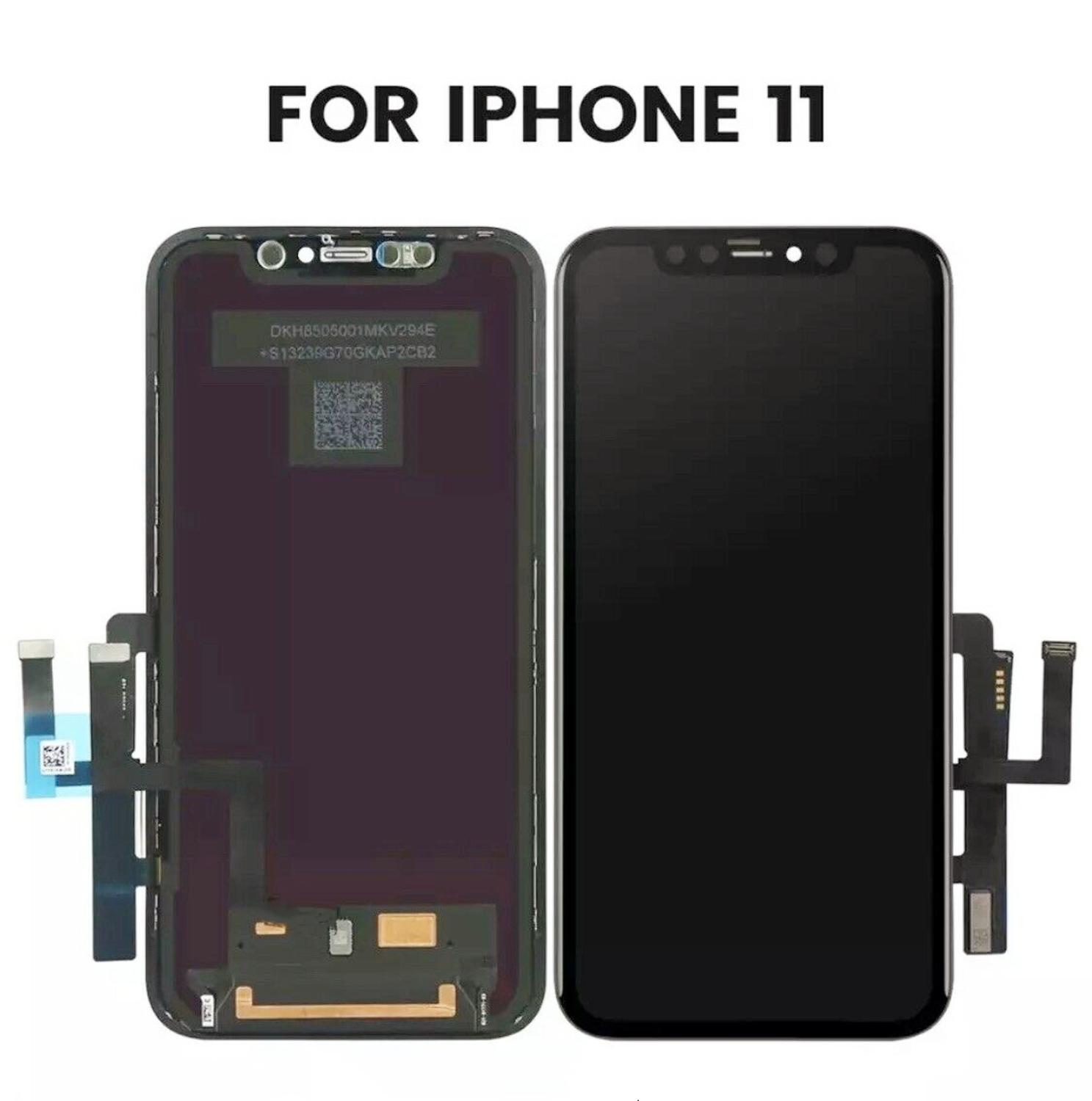 For iPhone X 11 LCD Display sreen OLED With 3D Touch Digitizer Assembly Replacement Display For iPhoneX iPhone11 LCD with Gift