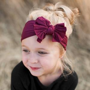 Cute Baby Girls Headbands Bowknot Hair Accessories for Girls Infant Hair Band for Girls Headwear Baby Girl Hair Accessories