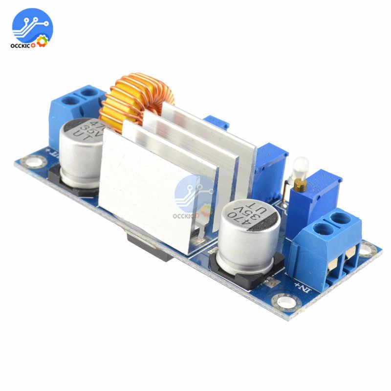 XL4005 5A Lithium chargeur Module DC-DC 4.5-30 V alimentation réglable CC/CV batterie chargeur carte pour Arduino