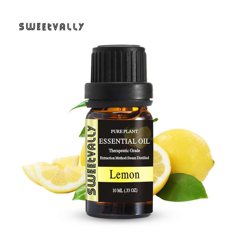 Sweet vally 37 pièces/ensemble huile aromatique huile essentielle naturelle d'amélioration des plantes 10ml huile de Massage soins de la peau huile d'arbre à thé