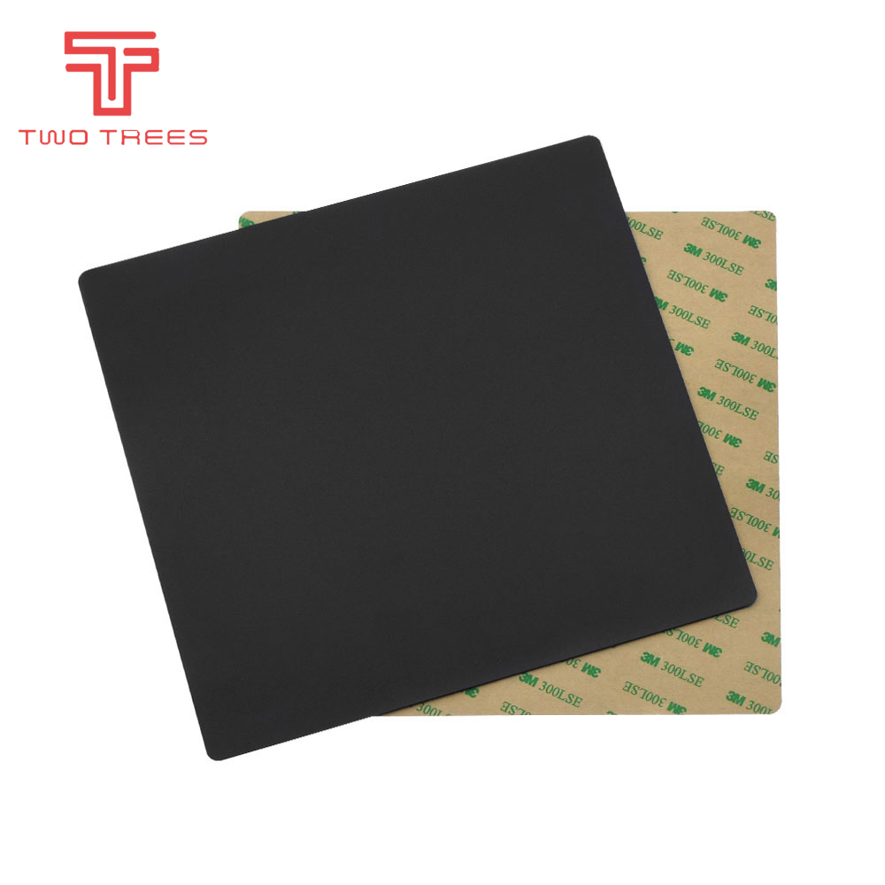 IsMyStore: 3D Printer Parts 220*220mm New Magnetic Print Hot Bed Tape Heated Bed Sticker Build Sheets Flex Plate Platform Heatbed