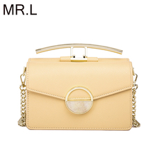 MR.L  New Fashion Luxury Handbags Women Bags Leather Flap Handbag Shoulder Bag for Women 2019 Ladies Messenger Bag Sac A Main недорого