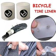 2 pçs forro de pneus de bicicleta à prova de punctura cinto proteção almofada anti-punctura protetor de pneus fita mtb bicicleta de estrada ferramentas de reparo quente