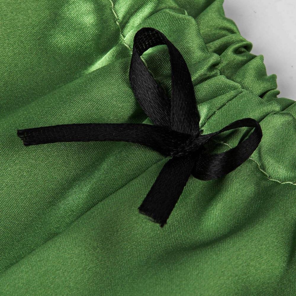 H360c4a739d56434b828b50d5033cc7f70 Camisola de encaje de satén con cuello en V para mujer, conjunto de pantalones cortos con lazo, lencería pijama, lencería sexy para tienda erótica #2N13