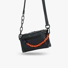 Mini Soft Trunk Bags For Women Luxury Desinger Square Shoulder Bag Fashion Unisex Chain Small Handbag Purse