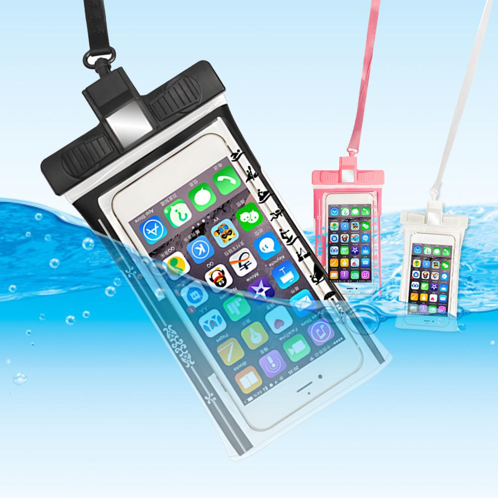 Phone Underwater Case Multi-function Whistle Waterproof Pouch Cell Phones Portable Bag Riding Mountaineering Swimming Diving  4
