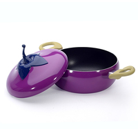 Creative Fruit Design Frying Pan Non Stick Coating Cooking Cookware Double Layer Coating Pan Kitchen Utensils