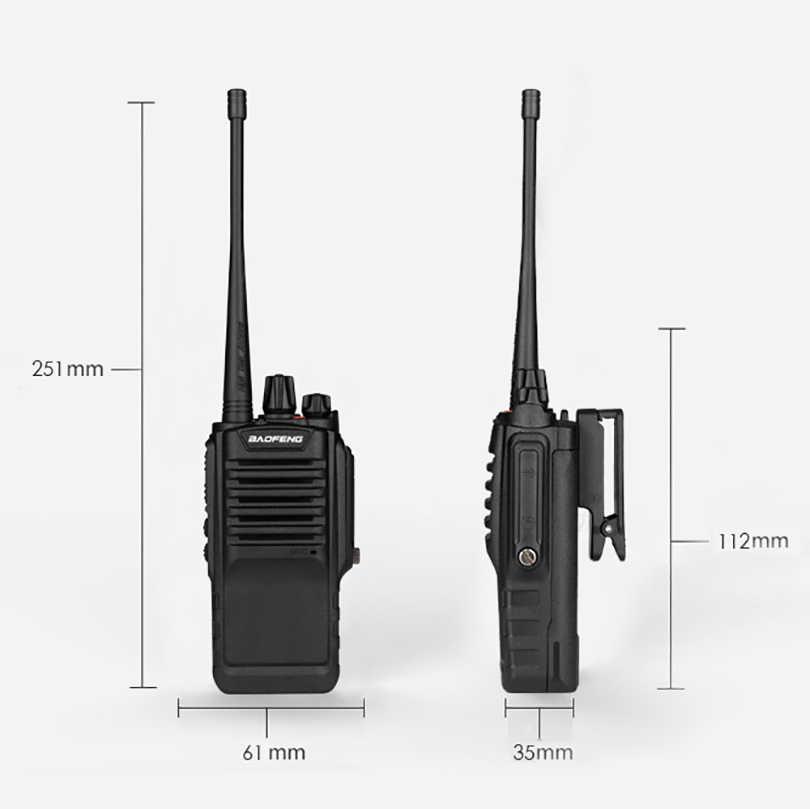 1/2/3/PC BAOFENG BF-9700 8W 2800mAh potente Walkie talkie impermeable Marina rádio Comunicador HF transceptor cb estación de radio