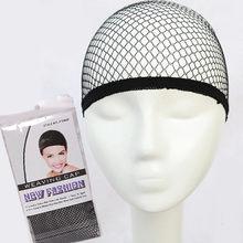 Venda superior hairnet boa qualidade malha tecelagem preto peruca de cabelo que faz a rede caps tecelagem peruca boné & hairnets