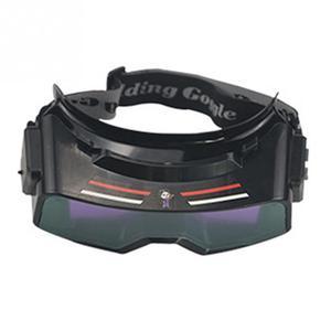 Image 5 - Anti Glare True Color Welding Goggles, Auto Darkening Welding Glasses for TIG MIG MMA Plasma Weld Mask LYG R100A Scratch Proof