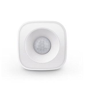 Image 4 - Tuya IFTTT Batterie Powered Smart ZigBee PIR Motion Sensor Detektor Home Alarm System arbeitet mit Mini ZigBee Hub