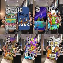 Cartoon Doo Scoobies Hond Telefoon Case Voor Iphone 12 11 Pro Max Mini Xs Max 8 7 6 6S plus X 5S Se 2020 Xr Cover