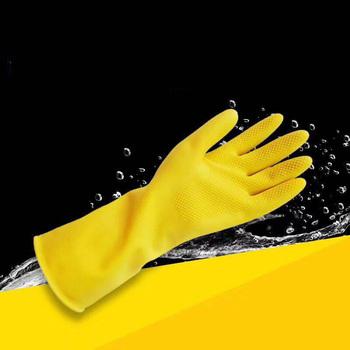 Rękawice do sprzątania zmywania naczyń magiczna guma silikonowa gąbka rękawica skruber domowy kuchnia czyste narzędzia kuchnia tanie i dobre opinie KAIGOTOQIGO CN (pochodzenie) 70g Średni latex CZYSZCZENIE Lateks z gładką podszewką Rubber gloves Dish Washing Gloves