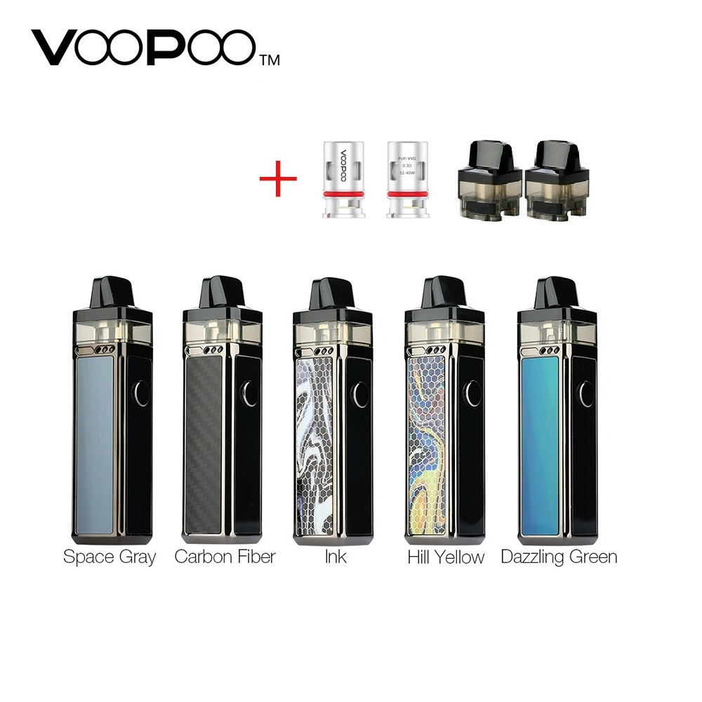 New Original VOOPOO VINCI R Mod Pod Vape Kit W/ 1500mAh Battery & 5.5ml Pod Electronic Cigarette Box Mod Kit Vs Drag 2/ Shogun