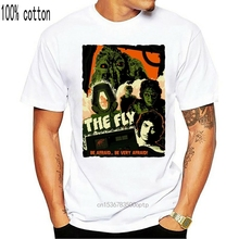 The Fly,Sci-Fi,Horror ,Drama ,Sizes S - 3Xl,1986,Old Movie,Mens T-Shirt, G0698 Casual Print Fashion Tee Shirt