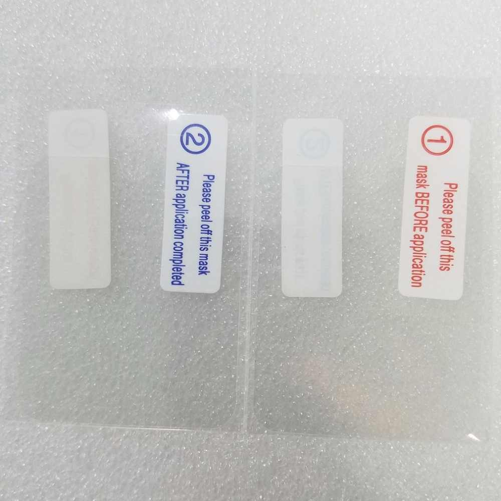 رقيقة جدا الزجاج المقسى المضادة للخدش شاشة واقية فيلم الجبهة ل GT08 ساعة ساعة ذكية واقي للشاشة