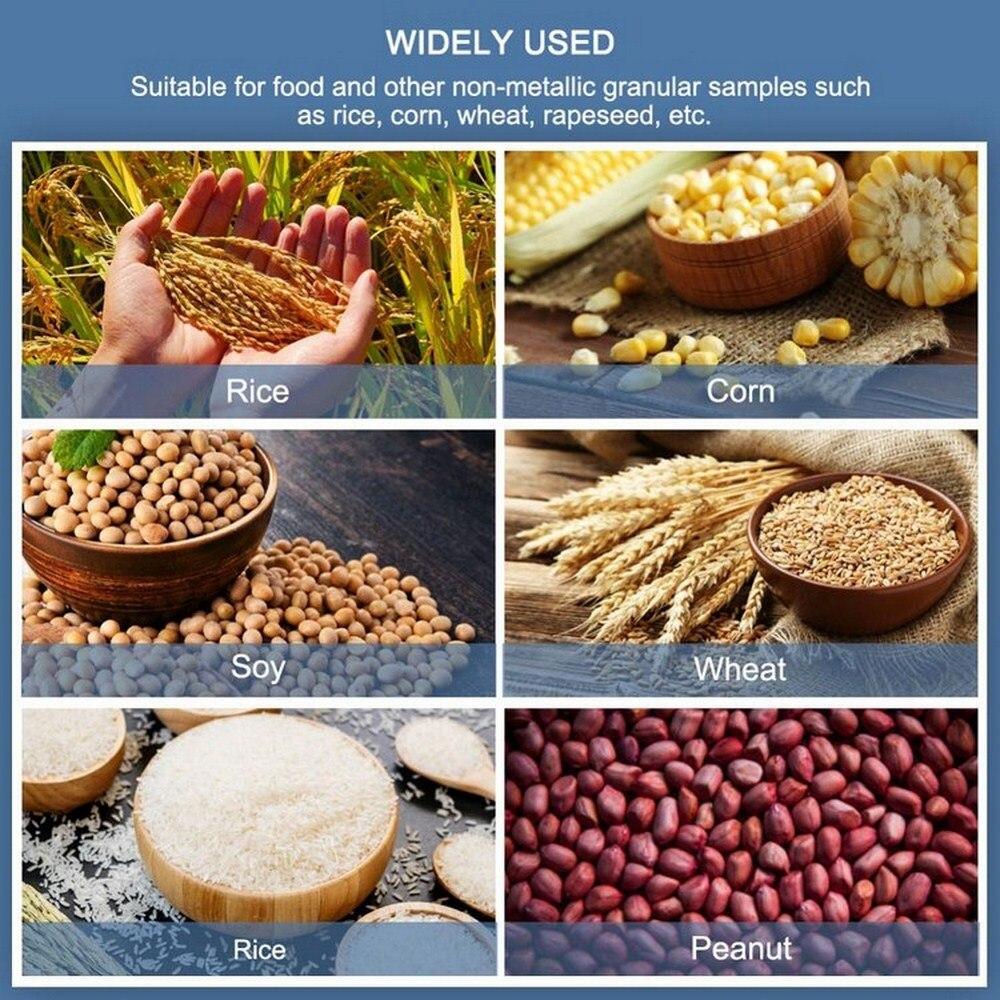 Цифровой анализатор влажности зерна, высокоточный гигрометр для кукурузы, риса, зерна, LDS 1G, измеритель влажности, ЖК дисплей, автоматически... - 3