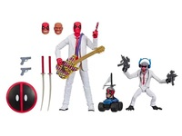 Original Marvel Legends Figurine 6'' Deadpool Hit Monkey with Guitar Accessories Joints Doll Action Figure Collectible Model Toy